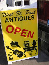 Welcome to West St Paul Antiques