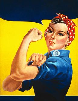 Rosie the Riveters of World War II