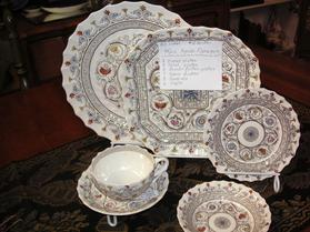 45 PCS. SET OF SPODE FLORENCE ~ $250.00