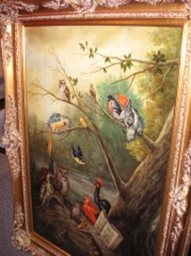 1800's Van Ken Rew Oil Painting