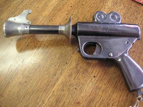 1930's Buck Rogers 25th Century Metal Ray Gun