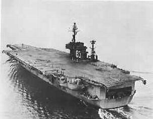 The USS Kitty Hawk