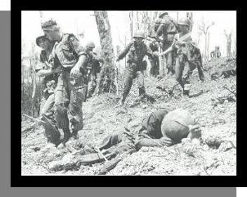 "A harrowing scene from ""Hamburger Hill"