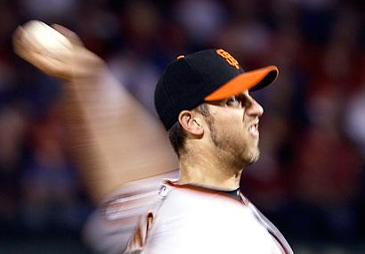 Bumgarner pitches Giants to brink of Series crown...