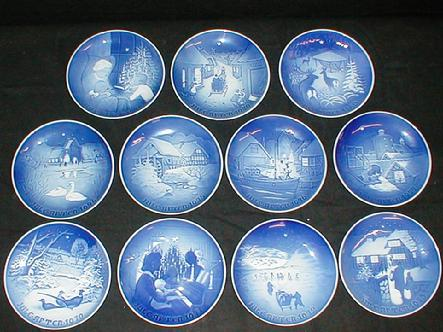 west saint paul antiques - Bing And Grondahl Christmas Plates