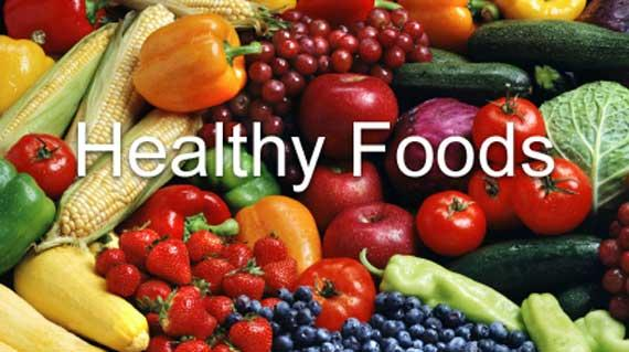 Click Here for our web page on Healthy Food...