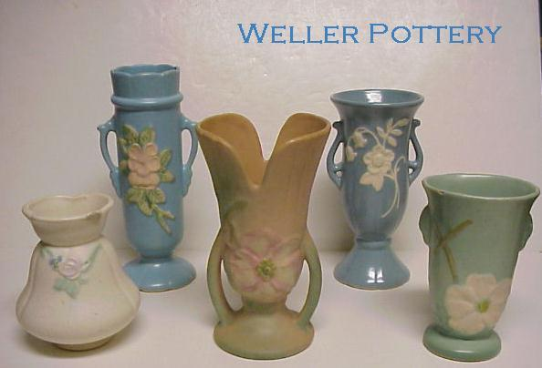 Click here for our Weller Pottery pages.