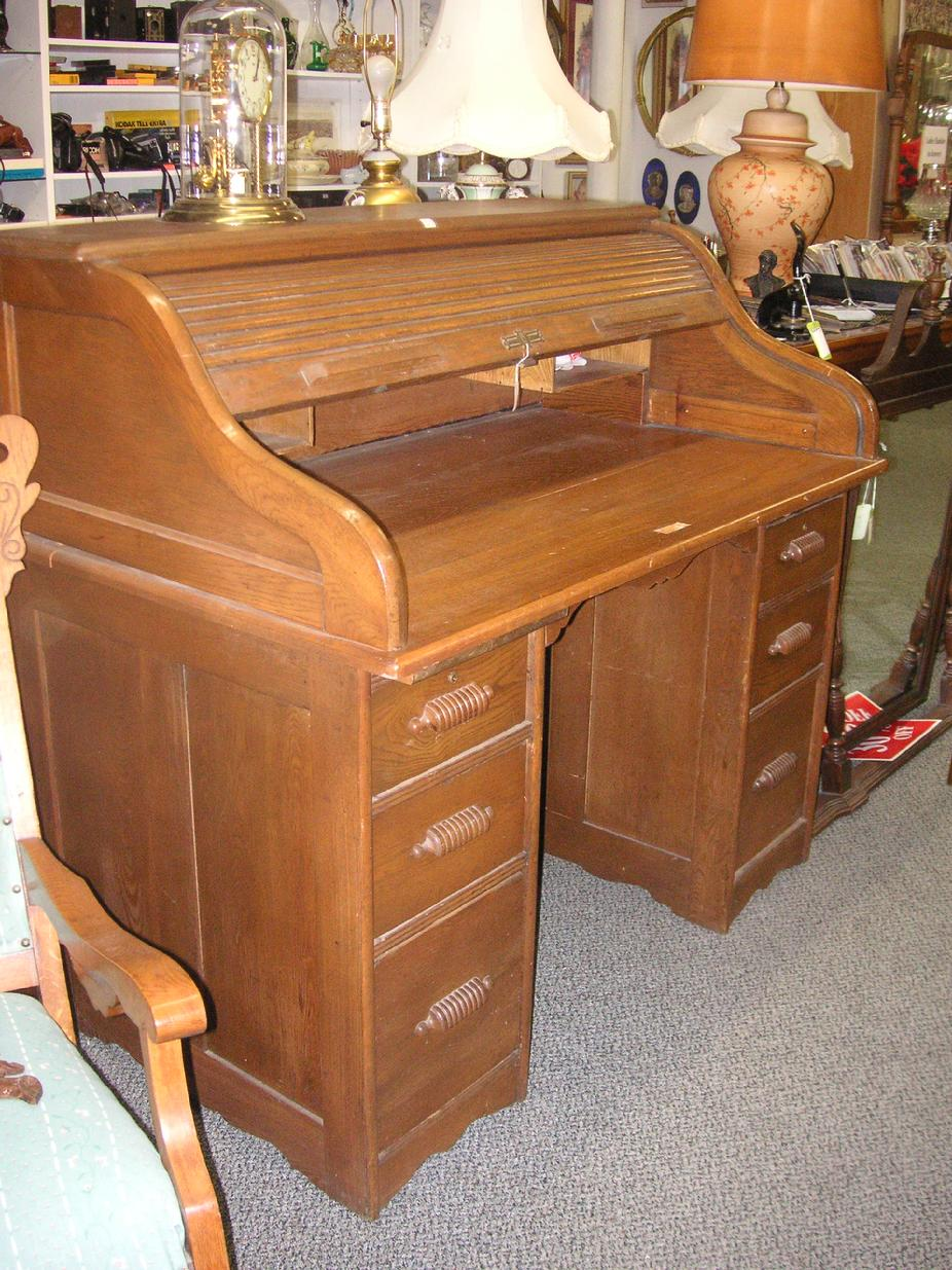 1950's Roll Top Desk
