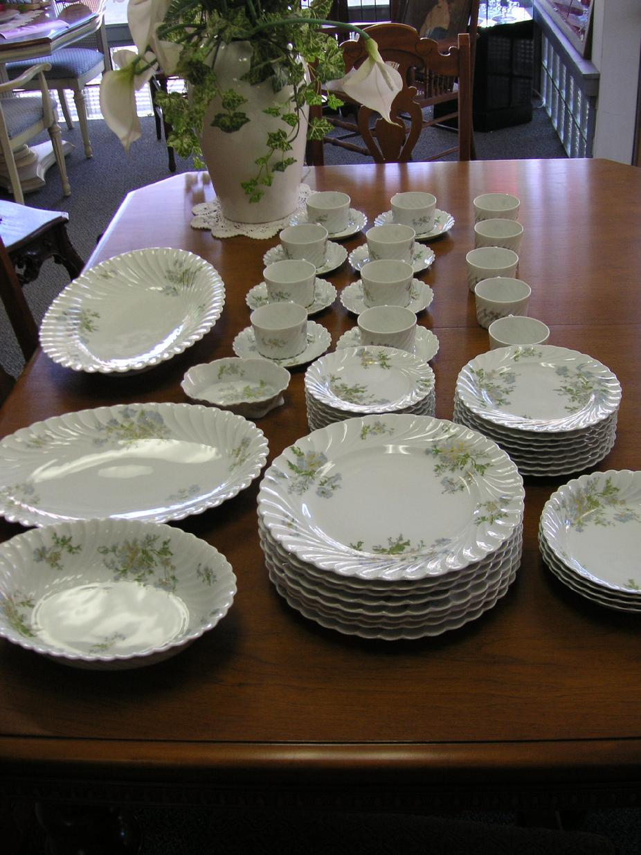 53 pc. set of Haviland Limoges Margaux
