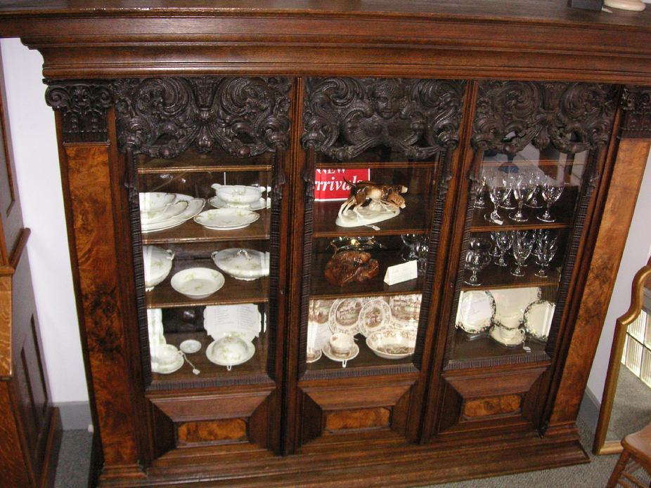 1850's German Bookcase - Click Here